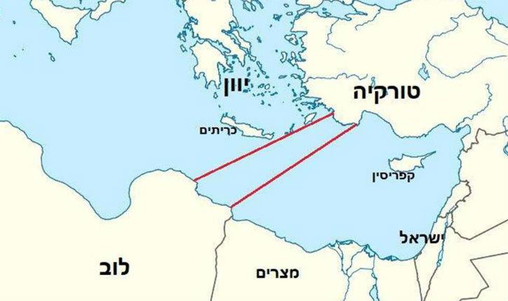 Erdogan veut s'opposer au futur gazoduc sous-marin EastMed qui doit relier Israël à l'Europe en signant un accord turco-libyen