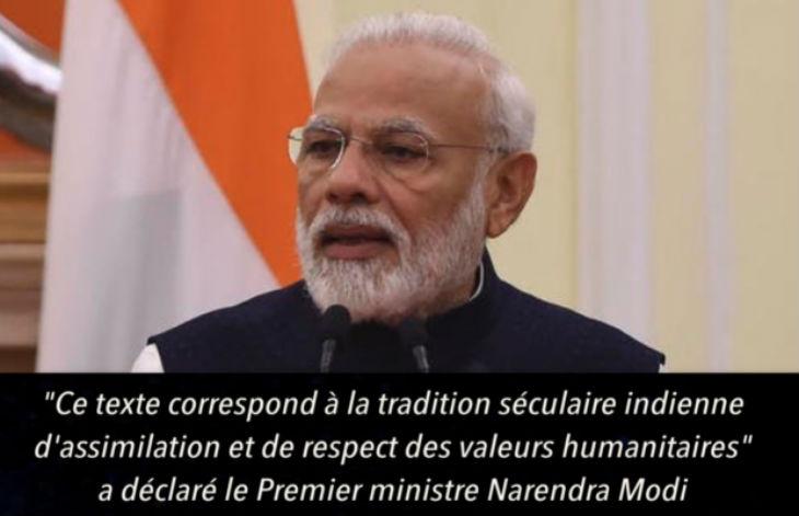 L'Inde va interdire la nationalité indienne aux immigrés musulmans