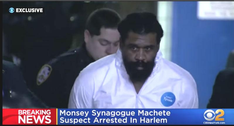 Attaque antisémite à New York : vidéo de l'arrestation du principal suspect afro-américain à Harlem