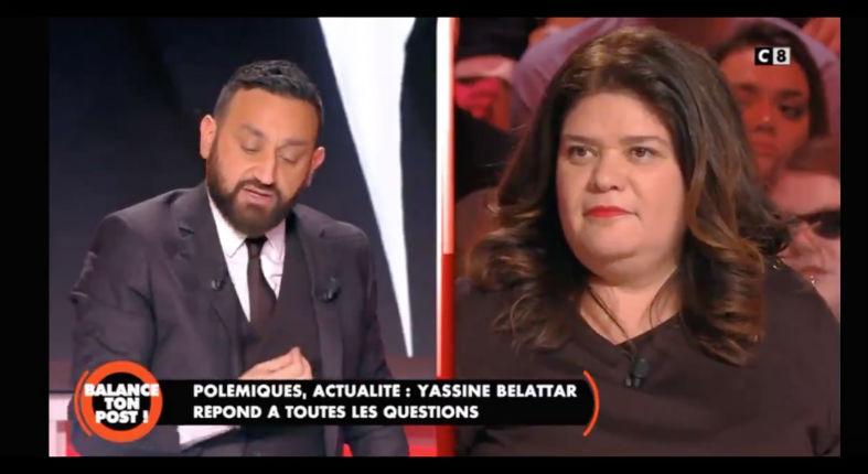 Cyril Hanouna recadre l'islamo-gauchiste Raquel Garrido et l'accuse d'antisémitisme : « Votre petite phrase est inadmissible » (Vidéo)