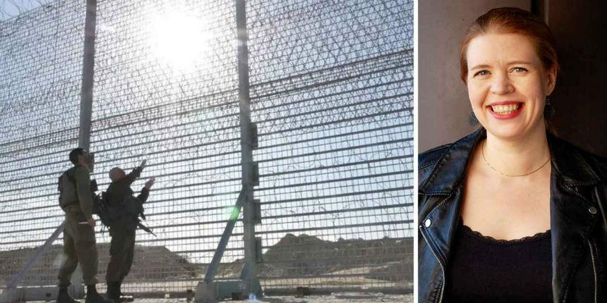 Une députée antisémite finlandaise voulait franchir la barrière de sécurité entre Israël et Gaza