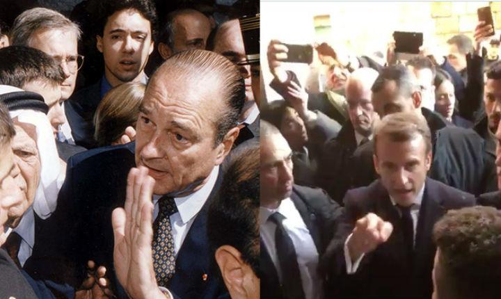 Macron, qui se prend pour Chirac, fait un scandale ridicule à Jérusalem… Un coup prémédité et bien préparé (Vidéo)