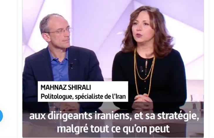 Mahnaz Shirali, spécialiste de l'Iran, cloue le bec des journalistes anti-Trump « La stratégie de Donald Trump n'était pas aussi mauvaise que ça ! C'est grâce à Trump que les dirigeants iraniens ne peuvent payer leurs mercenaires » (Vidéo)