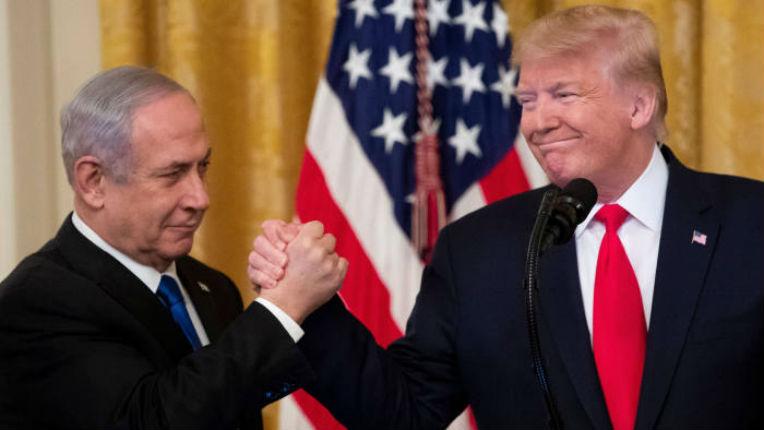 Un nouveau plan à deux Etats par Donald Trump