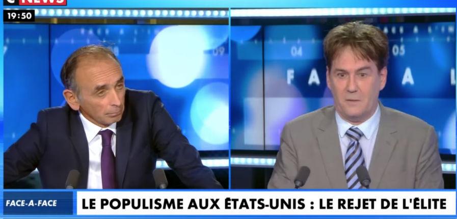 Zemmour : « Les élites encouragent l'invasion migratoire. Le populisme, c'est la révolte des peuples qui ne veulent pas mourir » (Vidéo)