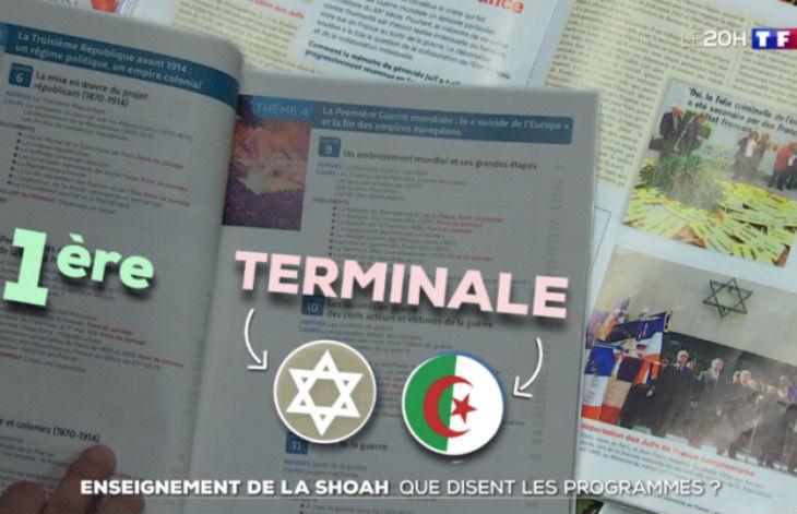 Jusqu'à présent en terminale, le professeur devait choisir : Soit étudier la mémoire de la Shoah soit étudier la guerre d'Algérie (Vidéo)
