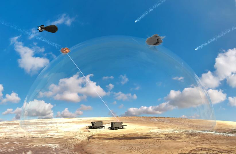 Israel dévoile sa dernière arme: le laser anti-missile