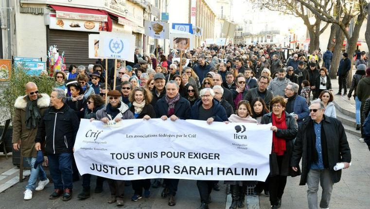 Des milliers de Français manifestent dans plusieurs villes de France pour demander justice pour Sarah Halimi assassinée par un islamiste