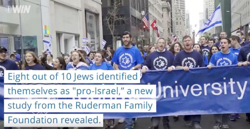 Etats Unis : 80% des Juifs américains sont pro-israéliens selon une étude (Vidéo)