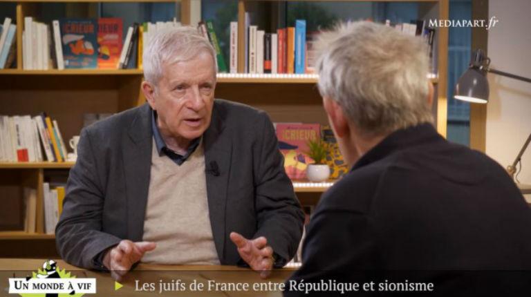 Quand le grand falsificateur de l'info Charles Enderlin accuse les Juifs de France de «franco-sioniste», revisitant la vieille théorie d'extrême droite de la double allégeance