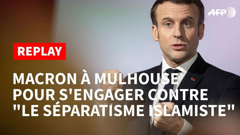 Emmanuel Macron l'affirme « L'islam politique n'a pas sa place » en France (Vidéo)