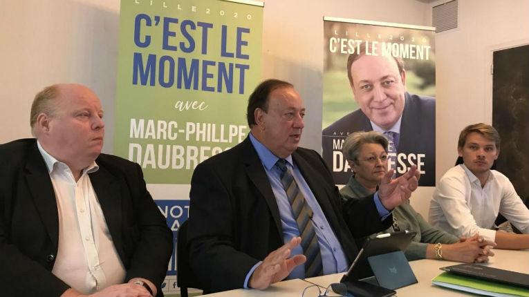 Municipales à Lille : le candidat Marc-Philippe Daubresse (LR) accusé d'être soutenu par un imam radical antisémite et antisioniste (Vidéo)