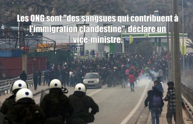 La Grèce accuse les ONG d'aider les passeurs et d'inciter les migrants à se révolter. « Ils font commerce de la misère humaine »