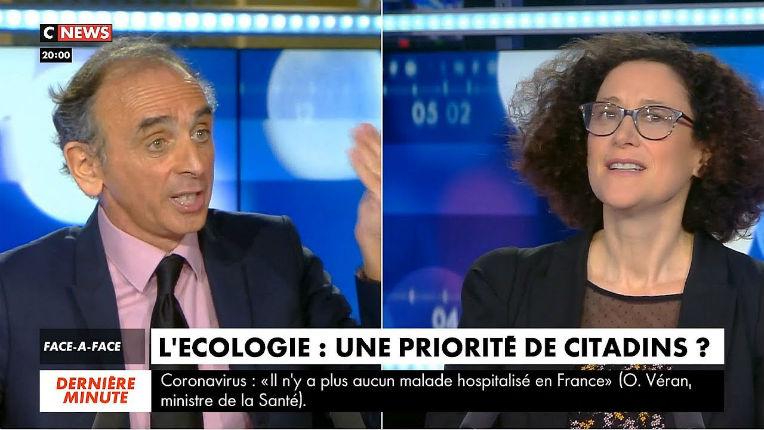 Zemmour face à Emmanuelle Wargon : « L'éolien est une catastrophe. C'est une chimère écologique. Vous saccagez la France ! » (Vidéo)