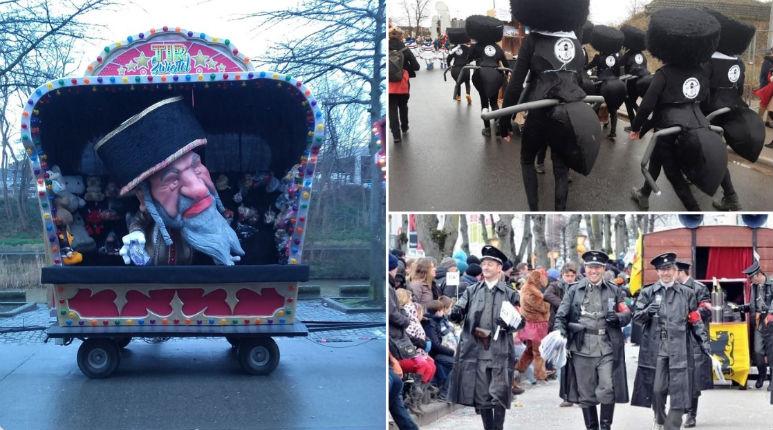 Antisémitisme: Au carnaval d'Alost, les Juifs sont des vermines, des fourmis ! Une véritable honte pour la Belgique !
