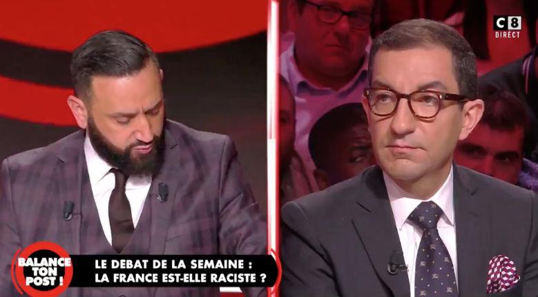 """""""Je suis l'arabe du Rassemblement national, c'est ça ? Si vous pensez ça, c'est que vous êtes racistes"""" : Jean Messiha accuse Cyril Hanouna de racisme (Vidéo)"""