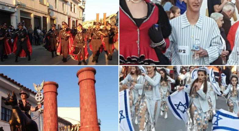 Banalisation et dérision de la Shoah au au carnaval de Campo de Criptana en Espagne (Vidéo)