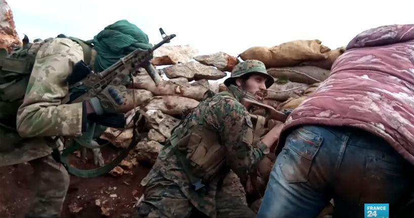 Syrie : des djihadistes «français» combattent dans la bataille d'Idleb (Vidéo)
