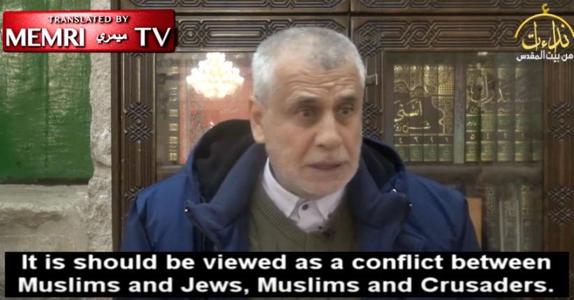 Un leader palestinien : «Il n'y a de place que pour un État islamique conquérant en Palestine, pas pour un Etat juif. Il s'agit d'un conflit religieux entre musulmans face aux juifs et chrétiens» (Vidéo)