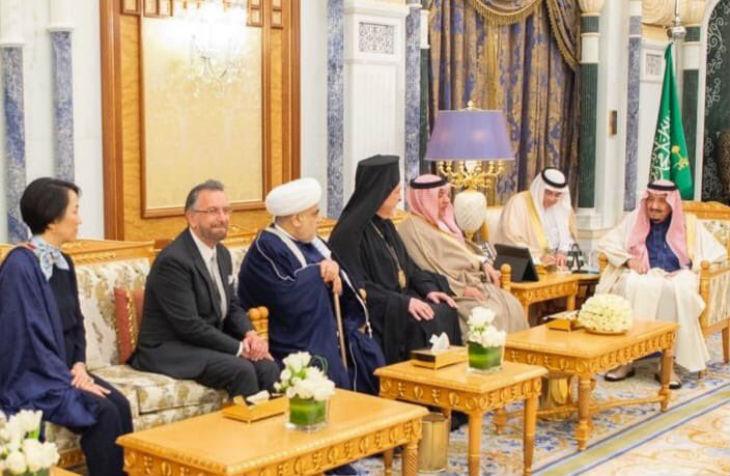 Le rabbin israélien David Rosen reçu comme invité du roi saoudien au palais royal