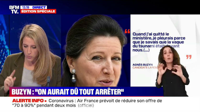 Coronavirus: Scandale après les révélations d'Agnès Buzyn «Si les propos de Agnès Buzyn reflètent la vérité, il s'agit d'un très grave scandale d'Etat. Mme Buzyn sera probablement amenée à donner des explications à la Cour de Justice» (Vidéo)