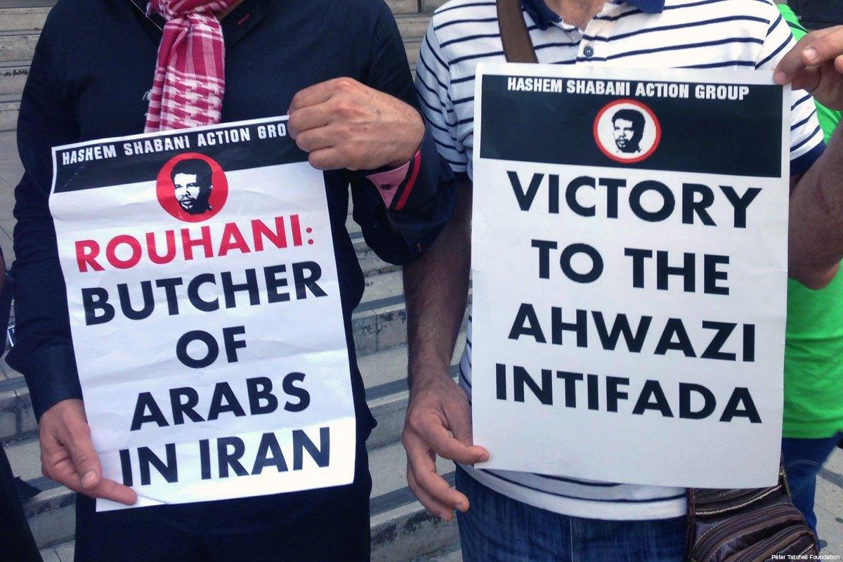 Des militants Ahwazis manifestent à Bruxelles contre les discriminations du régime perse