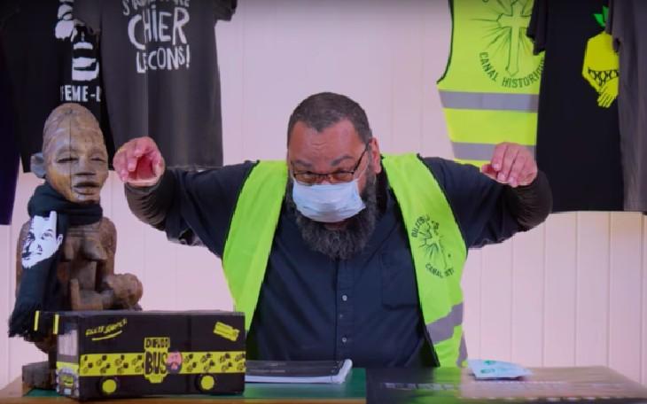 Avec la société chinoise de son fils, Dieudonné vend des masques chirurgicaux 3 fois plus cher qu'Amazon et échappe au fisc français…