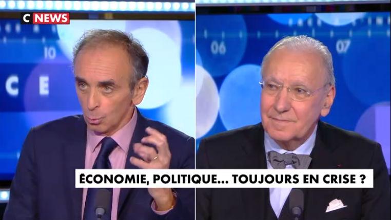 Éric Zemmour face à Maffesoli : « L'affrontement des civilisations et l'explosion démographique de l'Afrique sont des crises énormes » (Vidéo)