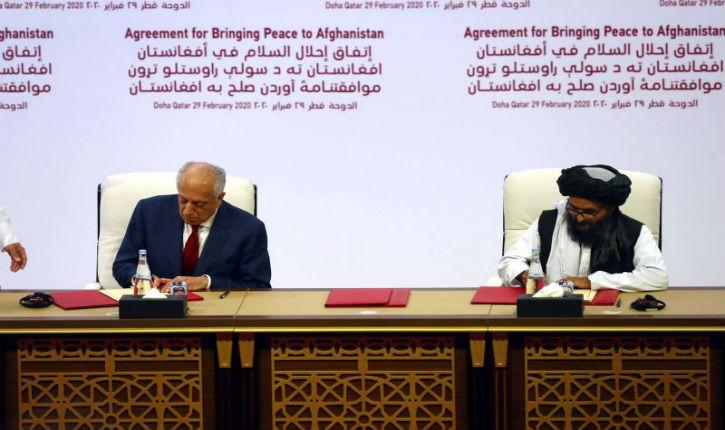 Promesse phare tenue par Donald Trump: Après 18 ans de guerre, les Etats-Unis et les talibans signent un accord historique