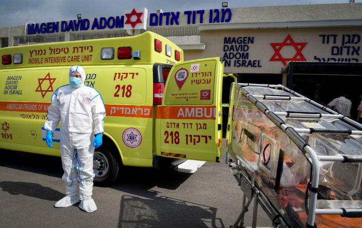 Israël, Coronavirus: 255 cas confirmés, dont 5 soldats et 5 personnes dans un état grave
