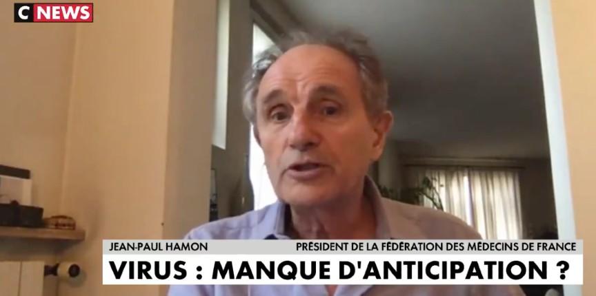 Dr Jean-Paul Hamon : « Les Coréens ont prouvé que ça servait de mettre des masques à tout le monde. Il faut arrêter de prendre les Français pour des idiots, l'État n'était pas prêt » (Vidéo)