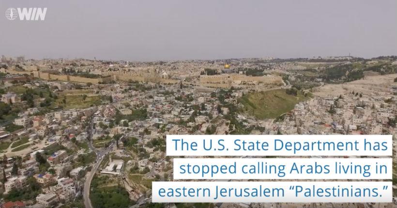 Etats Unis: Le Département d'État cesse de qualifier les Arabes de Jérusalem de «Palestiniens» (Vidéo)