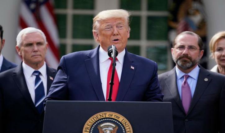 Donald Trump annonce qu'il prend tous les jours de l'hydroxychloroquine