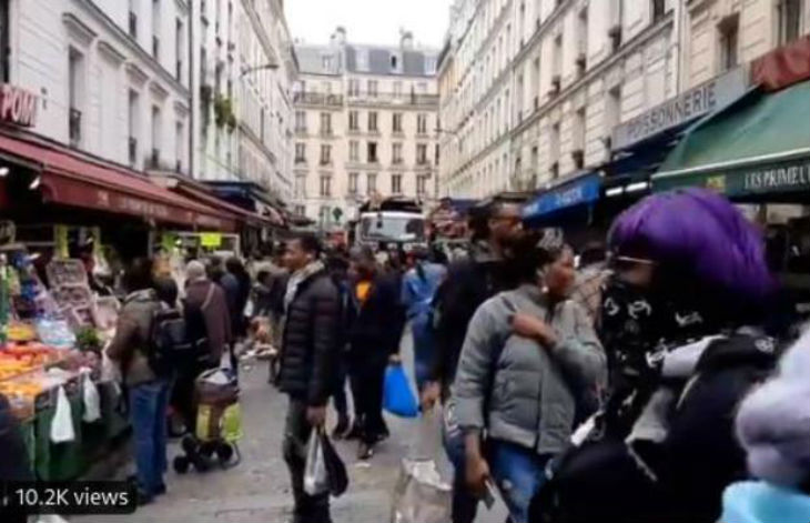 Coronavirus : dans certains quartiers, aucune des règles de sécurité n'est respectée. Fortes tensions avec la police (Vidéo)