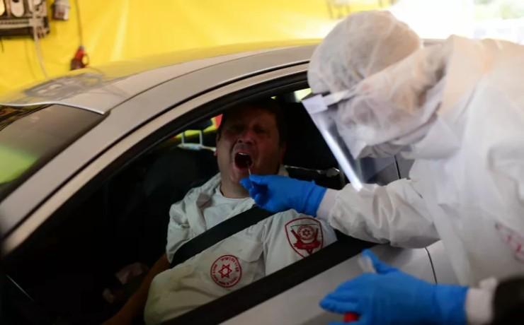 Israël: Ouverture d'un nouveau service de dépistage du coronavirus «drive» à Tel Aviv. 705 cas confirmés