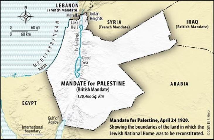 Cent ans de la conférence de San Remo: en 1920, la Société des Nations confiait au Royaume Uni mandat pour la « création du foyer national juif » en Palestine