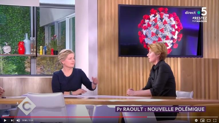 «C à vous» sur France 5 : Une émission mensongère consacrée à discréditer Raoult et tous ceux qui le soutiennent, des «complotistes populistes», avec vos impôts ! (Vidéo)