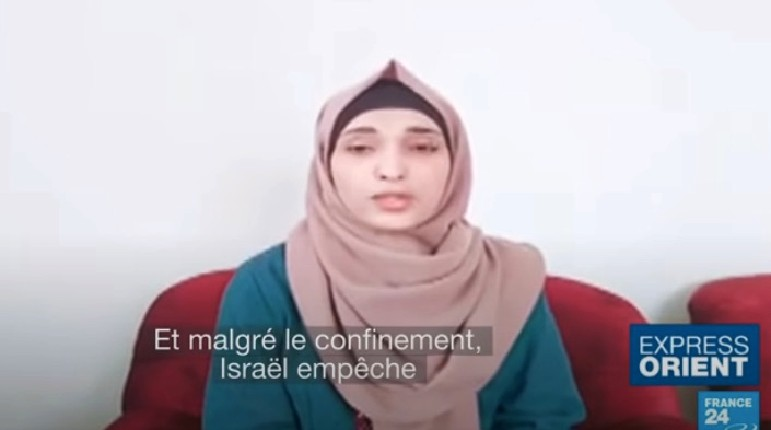 Fake News : France 24 en flagrant délit de mentir en affirmant qu'Israël empêche l'entrée d'équipement médical dans la bande de Gaza, ce qui est faux ! Les journalistes menteurs sont: Antoine Mariotti, Cécile Galluccio, Matthias Somm, et Stéphanie Cheval