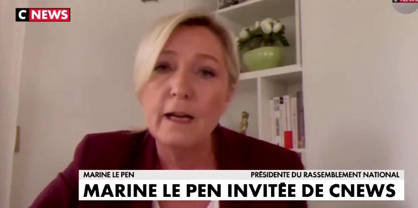 Marine Le Pen «Des mosquées se permettent de lancer des appels à la prière pour provoquer. Elles doivent être sanctionnées» (Vidéo)