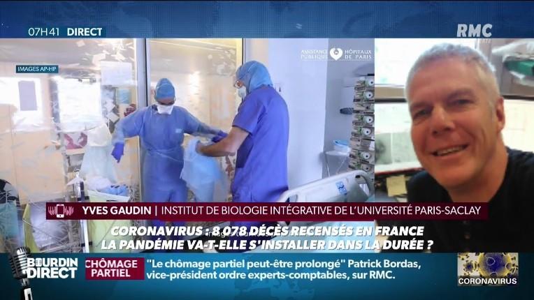 Coronavirus : « On peut craindre une résurgence de l'épidémie en automne. Il faut se préparer à vivre avec ce virus » selon un virologue du CNRS (Vidéo)