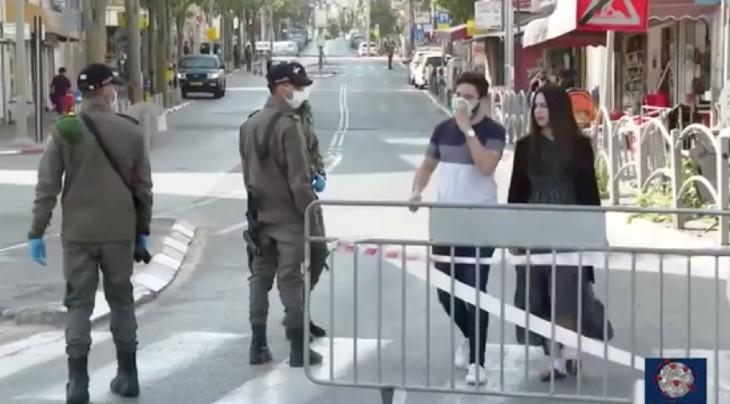 Coronavirus en Israël: l'armée appelée en renfort à Bnei Brak. 7.589 cas confirmés dont 115 dans un état grave, 44 morts