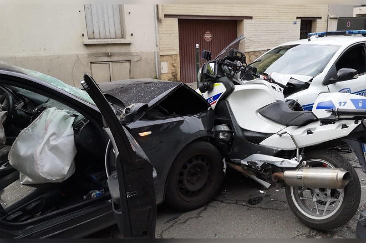 URGENT: Attaque terroriste à la voiture bélier à Colombes, deux policiers blessés. L'islamiste voulait mourir en «martyr»