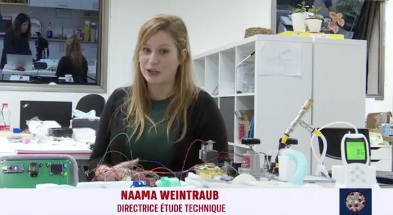 Coronavirus en Israël: des anciens soldats ingénieurs se lancent dans la fabrication de respirateurs 100% israéliens (Vidéo)