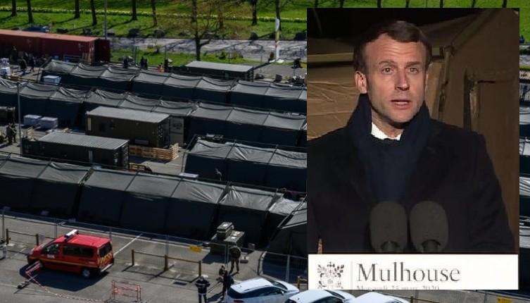 Armées françaises, mensonges et faillite d'Etat ? Un hôpital militaire de 30 lits dans une opération de com pour «l'appel du général» Macron en guerre