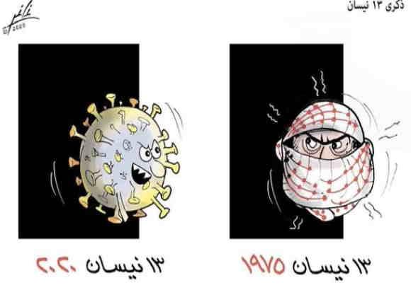 Le Hamas critique des caricatures libanaises qui comparent les Palestiniens aux coronavirus