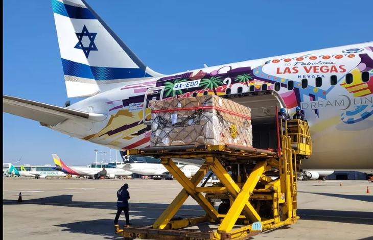 Coronavirus en Israël: du matériel médical et des dizaines de milliers de tests atterrissent depuis la Corée du Sud