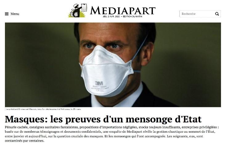 Pour l'avocat Régis De Castelnau, le passage des responsables devant le juge pénal est inéluctable «ceux qui ont failli devront rendre des comptes»,»Macron serait excédé par ceux qui critiquent sa gestion de la crise»