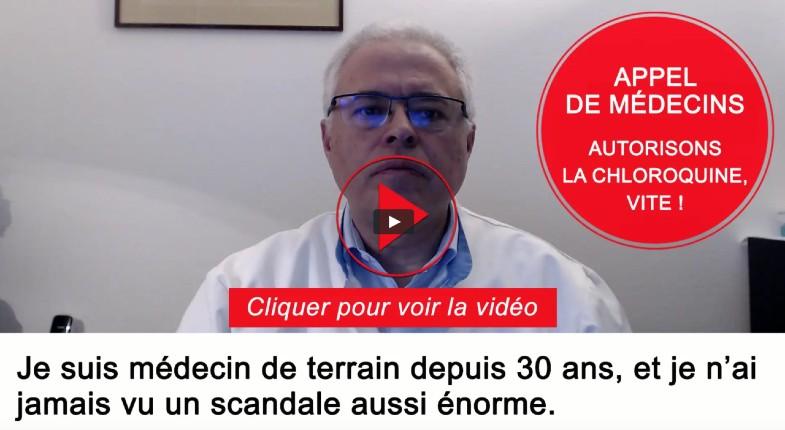 Scandale de la chloroquine : un groupe de médecins de terrains réagit «le gouvernement nous interdit de prescrire de la chloroquine par décret du 26 mars», il lance une pétition