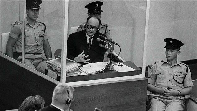 60ème anniversaire de la capture d'Adolf Eichmann par le Mossad au nord de Buenos Aires, en Argentine.