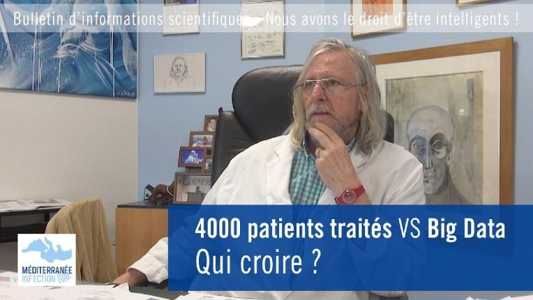 Chloroquine : Le Pr Raoult «On a soigné 4000 patients avec un taux de mortalité de 0,5%, le plus bas du monde. Lancet publie une étude «foireuse» qui n'a aucun sens, je ne vais pas changer d'avis !» (Vidéo)
